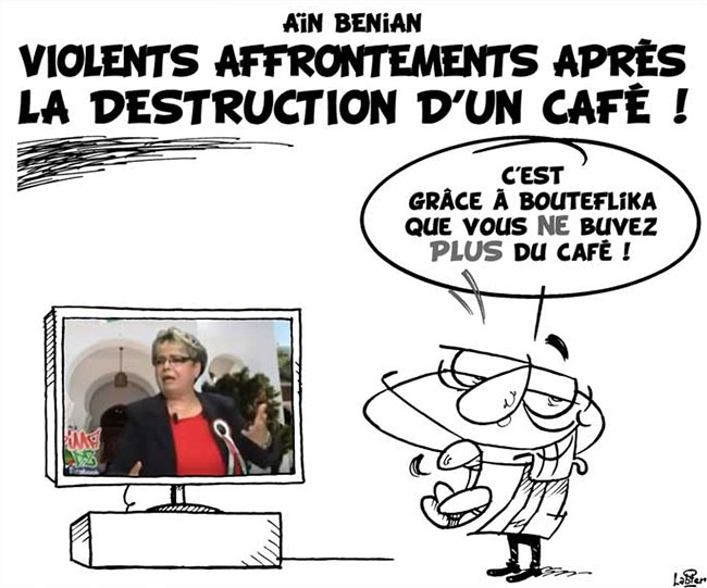 Aïn Benian: Violents affrontements après la destruction d'un café