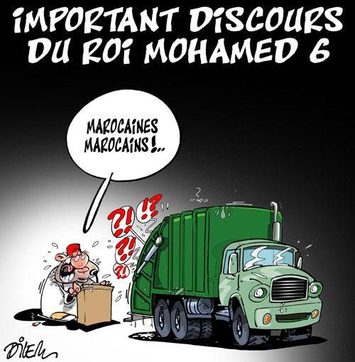 Important discours du roi Mohamed 6
