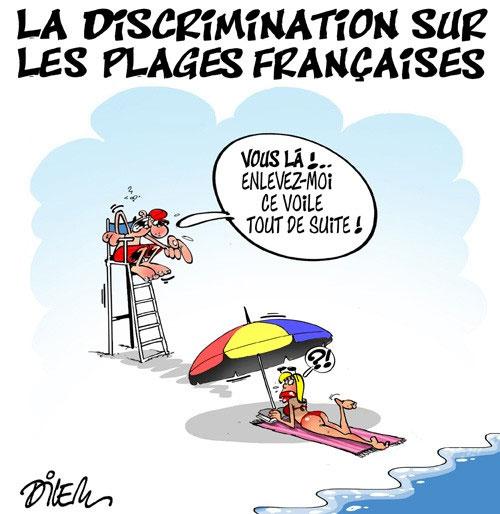 La discrimination sur les plages françaises