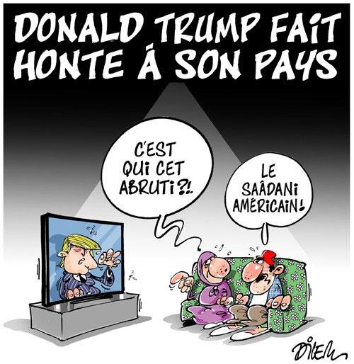 Donald Trump fait honte à son pays