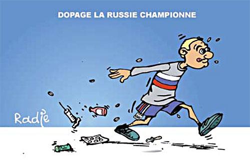 Dopage: La Russie championne