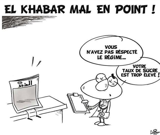 El Khabar mal en point