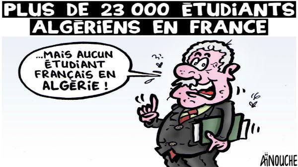 Plus de 23 000 étudiants algériens en France