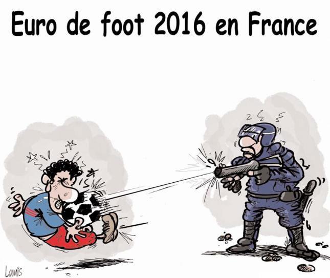 Euro de foot 2016 en France