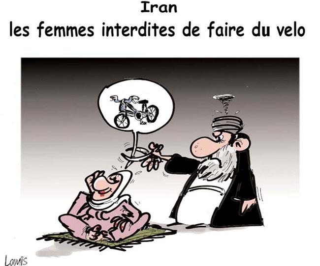 Iran: Les femmes interdites de faire du vélo