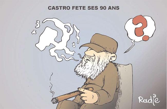 Castro fête ses 90 ans