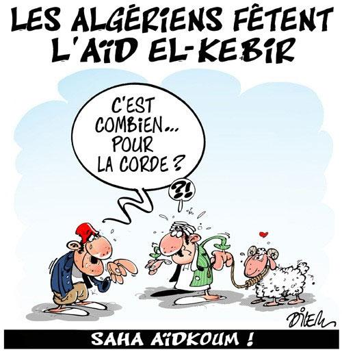 Les Algériens fêtent l'aïd el-kebir