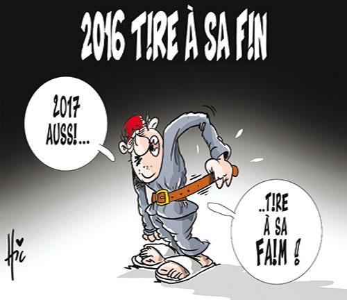 2016 tire à sa fin