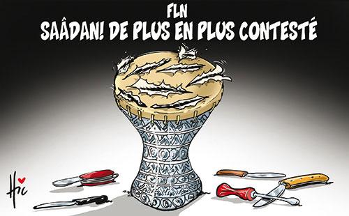 Fln: Saâdani de plus en plus contesté