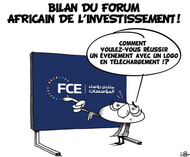 Bilan du forum africain de l'investissement