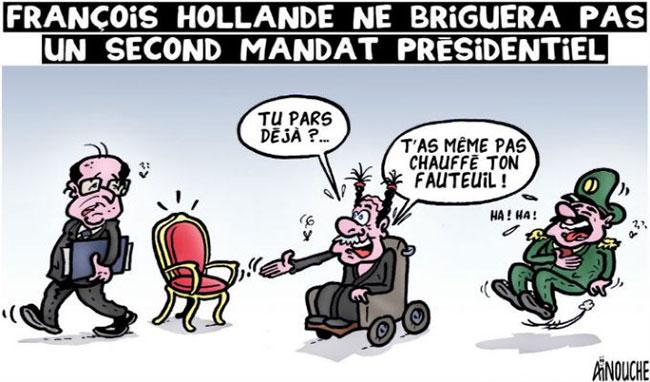François Hollande ne briguera pas un second mandat présidentiel