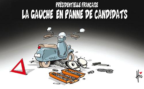 Présidentielle française: La gauche en panne de candidats