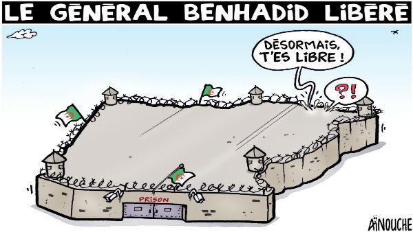 Le général Benhadid libéré