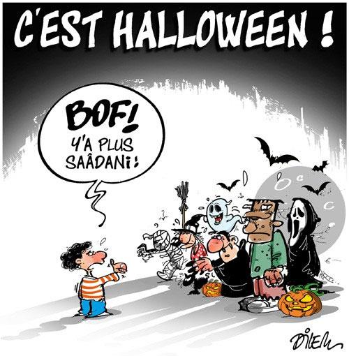 C'est halloween
