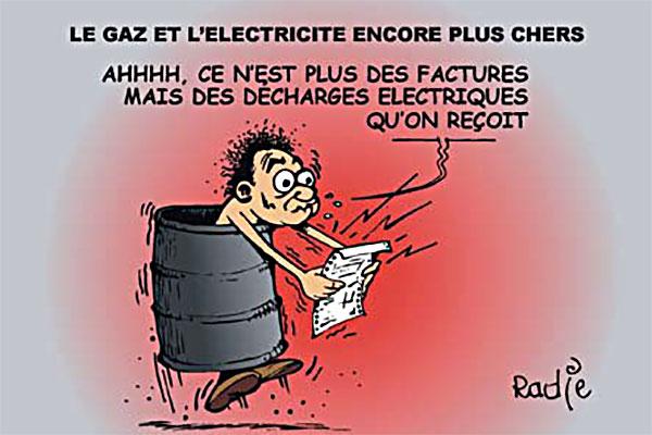 Le gaz et l'électricité encore plus chers
