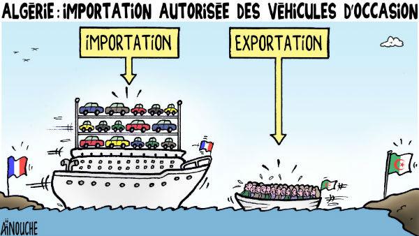 Algérie: Importation autorisée des véhicules d'occasion