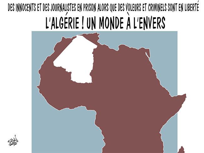 Des innocents et des journalistes en prison alors que des voleurs et criminels sont en liberté: L'Algérie un monde à l'envers