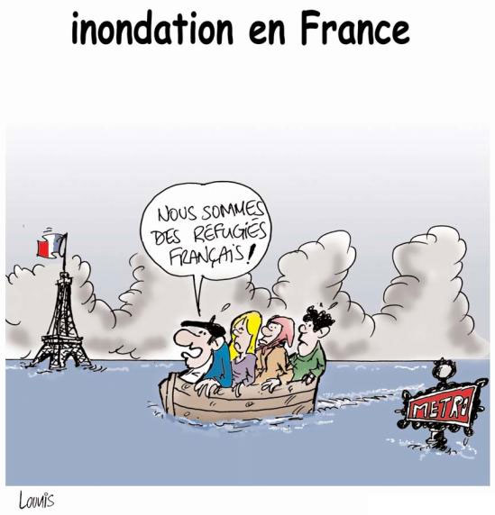 Innondation en France