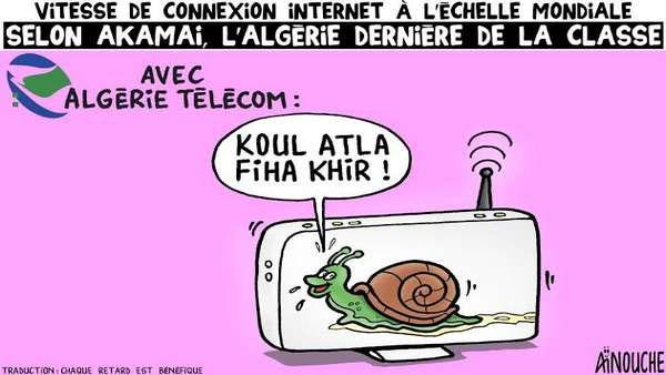 Vitesse de connexion internet à l'échelle mondiale: Selon Akamai