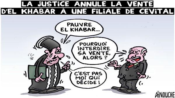 La justice annule la vente d'El Khabar à une filiale de Cevital