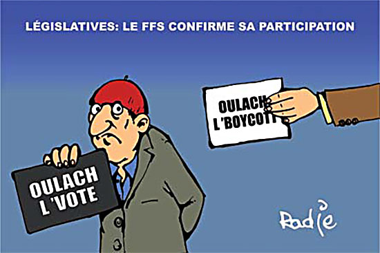 Législatives: Le ffs confirme sa participation