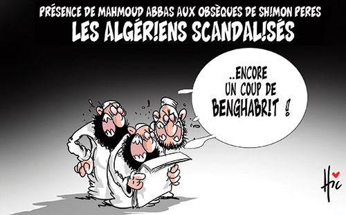 Présence de Mahmoud Abbas aux obsèques de Shimon Pérès: Les Algériens scandalisés