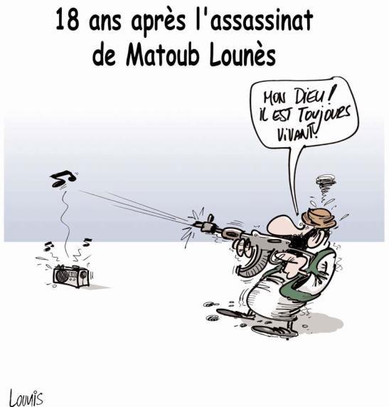 18 ans après l'assassinat de Matoub Lounes