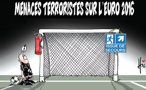 Menaces terroristes sur l'euro 2016