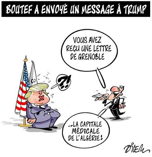 Boutef a envoyé un message à Trump
