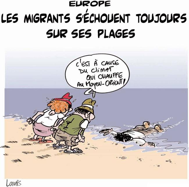Europe: Les migrants s'échouent toujours sur ses plages