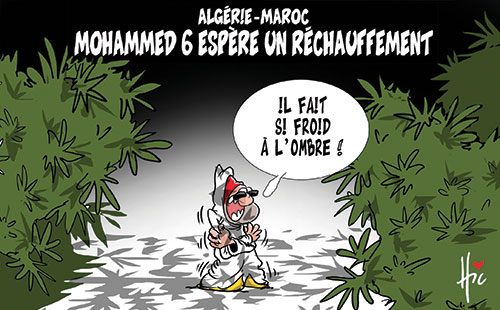 Algérie-Maroc: Mohamed 6 espère un réchauffement