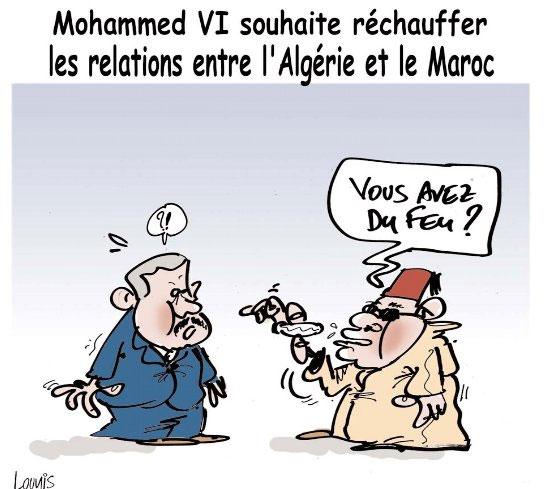 Mohamed VI souhaite réchauffer les relations entre l'Algérie et le Maroc