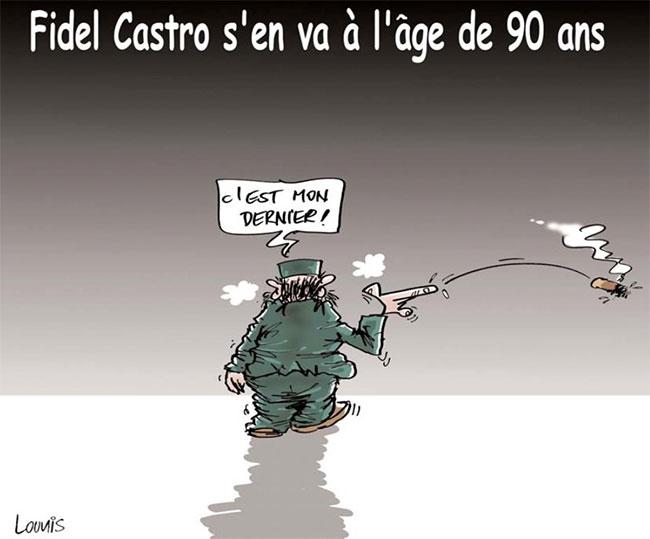 Fidel Castro s'en va à l'age de 90 ans