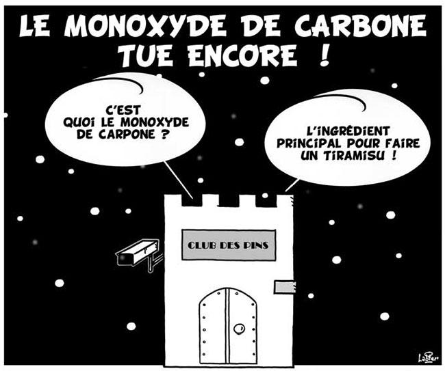 Le monoxyde de carbone tue encore