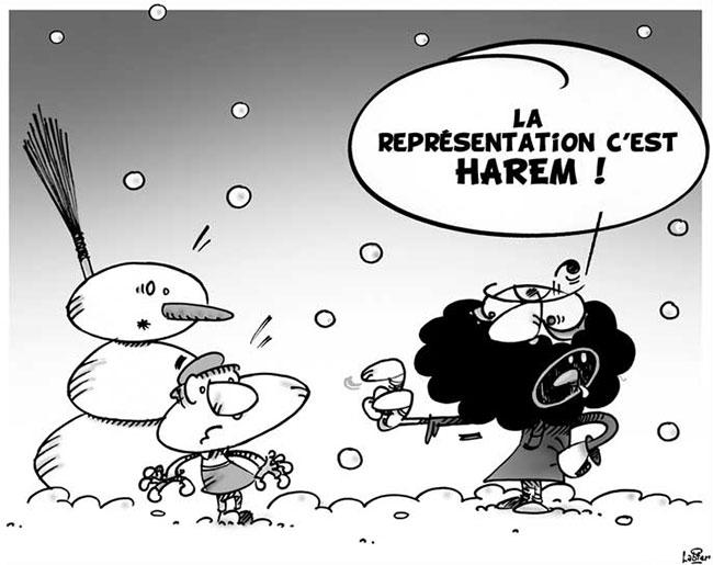 La neige en Algérie