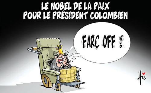Le nobel de la paix pour le président colombien