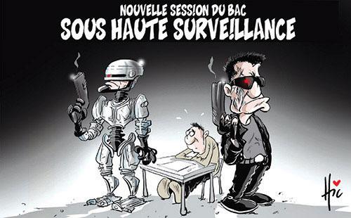 Nouvelle session du bac: Sous haute surveillance