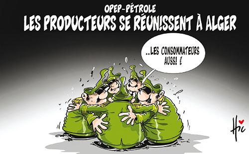 Opep-Pétrole: Les producteurs se réunissent à Alger
