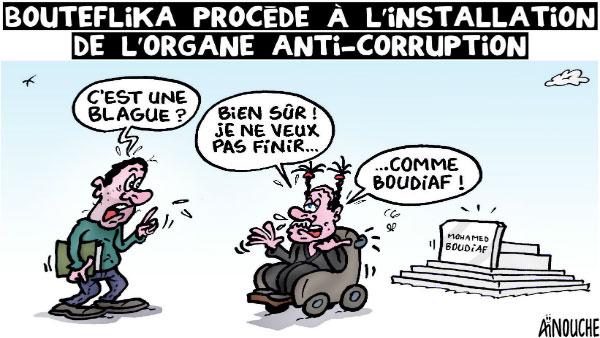 Bouteflika procéde à l'installation de l'organe anti-corruption