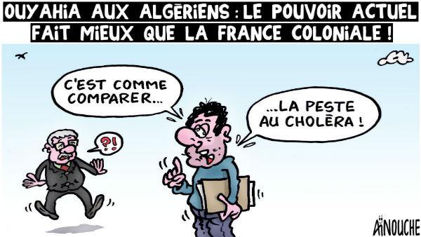 Ouyahia aux algériens: Le pouvoir actuel fait mieux que la France coloniale