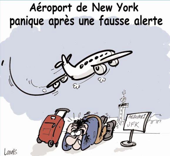 Aéroport de New York: Panique après une fausse alerte