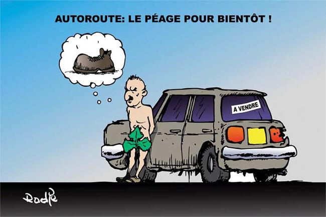 Autoroute: Le péage pour bientôt