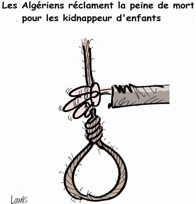 Les Algériens réclament la peine de mort pour les kidnappeurs d'enfants