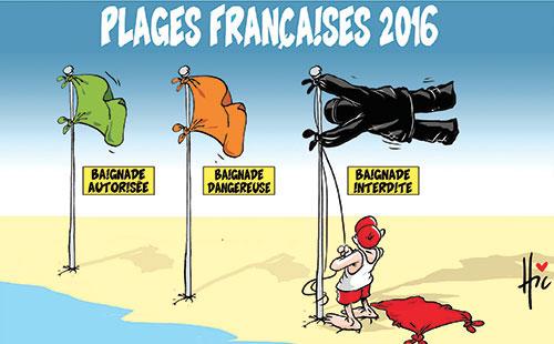 Plages françaises 2016
