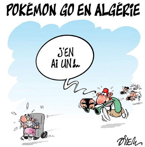 Pkémon Go en Algérie