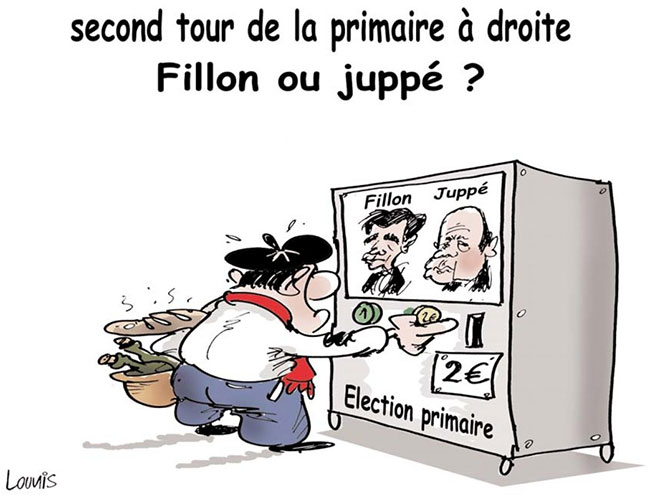 Second tour de la primaire à droite: Fillon ou Juppé ?