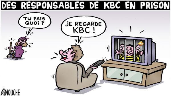 Des résponsables de KBC en prison