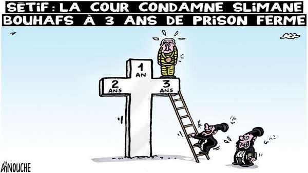 Sétif: La cour condamne Slimane Bouhafs à 3 ans de prison ferme