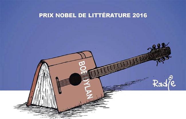 Prix nobel de litérrature 2016