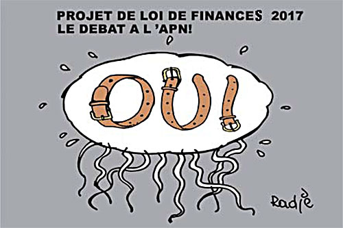 Projet de loi de finances 2017: Le débat à l'apn